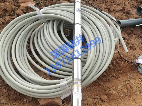 武汉打井公司的深井水泵和给水管
